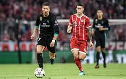 """""""Ngọn lửa"""" James Rodriguez là chìa khóa để Bayern Munich """"lật kèo"""" trước Real Madrid"""