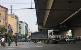 Ô tô tải tông một phụ nữ đi xe máy tử vong tại chỗ