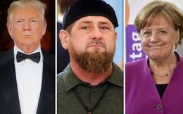 Lãnh đạo Chechnya dọa bắt, bỏ tù ông Donald Trump và bà Angela Merkel