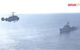 Lữ đoàn 954 Không quân Hải quân tổ chức hiệp đồng bay bắn, ném