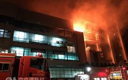 Đài Loan: Cháy lớn kinh hoàng tại tòa nhà 5 tầng, nhiều lao động Việt Nam lo lắng sợ hãi