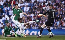 """Cất Ronaldo trên ghế khán giả, Real có liều """"doping"""" nhẹ trước Hùm xám"""