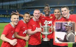 6 năm sau bàn thắng quyết định cho Man United, bạn thân Lingard lặng lẽ đi làm thợ cắt tóc