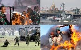 10 quốc gia có quân đội mạnh nhất châu Á