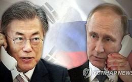 Tổng thống Nga khẳng định sẵn sàng hỗ trợ hợp tác liên Triều
