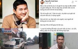 Bẻ lái tránh 2 cô gái khiến xe tải lật nhào: Có người nhận đền 240 triệu đồng giúp tài xế