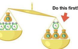 Phương pháp cân + Quy tắc 10 phút = Làm việc hiệu quả gấp 10 lần!