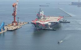 Trung Quốc ấn định thời điểm thử tàu sân bay tự đóng đầu tiên