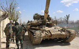 """Video: Quân đội Syria """"khai quật"""" loạt đường hầm, bệnh viện ngầm ở Đông Ghouta"""