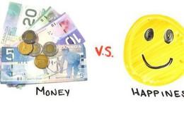 Tiền có thể mua được niềm vui nhưng hạnh phúc bắt nguồn từ một thứ khác!