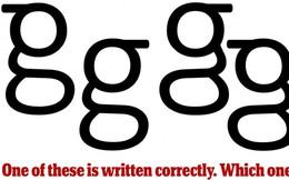 Đừng tưởng bạn đã biết: Đâu mới là cách viết chữ G chuẩn xác nhất?