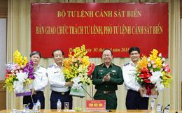 Bàn giao chức trách Tư lệnh và Phó Tư lệnh Cảnh sát biển Việt Nam
