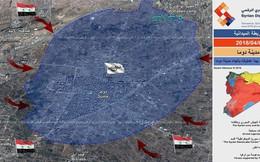 Nhóm thánh chiến tử thủ Đông Ghouta bắn phá Damascus, quân đội Syria bắt đầu chiến dịch Douma