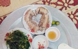 """Nấu cơm cho vợ xếp thịt hình... trái tim, anh chồng khiến cư dân mạng """"dậy sóng"""" và sự thật khó ngờ"""