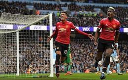 """Man United kéo sập Etihad: Chiến công hơn vạn lời """"khua môi múa mép"""" của Mourinho"""