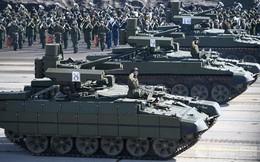 Khí tài tối tân của Nga tập kết trước duyệt binh Ngày Chiến thắng