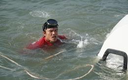 Cận cảnh trục vớt tàu cao tốc trị giá cả triệu USD bị chìm ở Sài Gòn