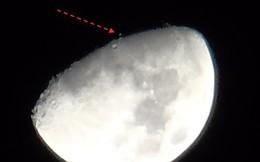 Bí ẩn vật thể lạ di chuyển lơ lửng trên Mặt trăng