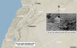 """Tại sao căn cứ sân bay T-4 Syria luôn phải """"giơ đầu chịu báng"""" trước tên lửa của Israel?"""