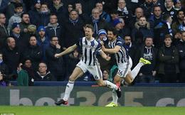 Vòng 23 Premier League: West Brom 2-0 Brighton