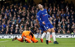 Vòng 23 Premier League: Chelsea 0-0 Leicester