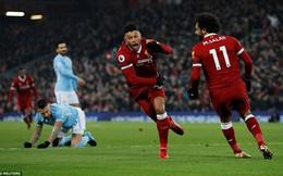 Vòng 23 Premier League: Liverpool 4-3 Man City