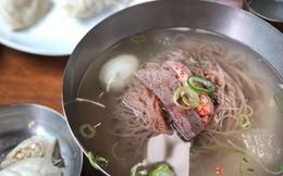 Nhờ ông Kim Jong-un, doanh số bán món mỳ lạnh tại Hàn Quốc tăng mạnh
