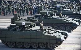 """24h qua ảnh: """"Kẻ hủy diệt"""" lần đầu tham gia diễu binh Ngày Chiến thắng ở Nga"""