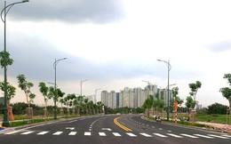 """Cận cảnh con đường """"dát kim cương"""" với chi phí 1.000 tỷ đồng/km ở Khu đô thị mới Thủ Thiêm"""
