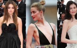"""Thảm đỏ LHP Cannes: """"Cô bé đẹp nhất thế giới"""" khoe sắc giữa dàn mỹ nhân hở bạo"""
