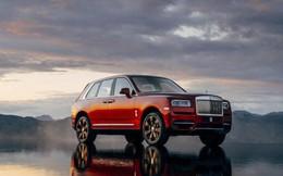 Cận cảnh chiếc SUV siêu sang Rolls-Royce Cullinan