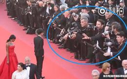 """Mỹ nam Trung Quốc """"muối mặt"""" vì bị phóng viên Cannes xua đuổi khỏi ống kính"""