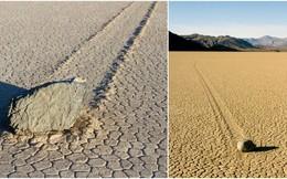 Bí ẩn hàng thập kỷ về hòn đá tự lăn ở Thung lũng Chết có thể đã tìm ra lời giải