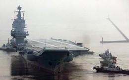 """Tàu sân bay Trung Quốc dễ thành """"con tin"""", không dám tham chiến ở biển gần?"""