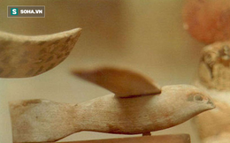 Phát lộ mô hình giống hệt máy bay trong kho tàng cổ vật Ai Cập