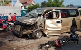 Tai nạn liên hoàn, 6 người bị thương, cả phường mất điện
