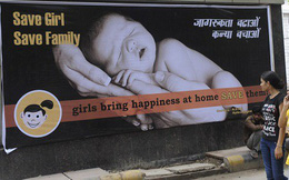 Nạn phân biệt giới tính khiến 239.000 trẻ em gái ở Ấn Độ tử vong mỗi năm