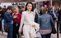 Sau lùm xùm tình ái, Nhã Phương lấy lại thần thái rạng rỡ khi xuất hiện tại Cannes
