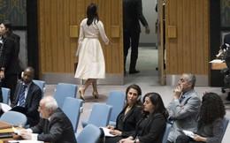 """24h qua ảnh: Đại sứ Mỹ """"bỏ đi"""" khi người đồng cấp Palestine lên tiếng về Dải Gaza"""