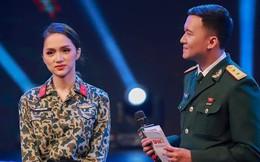 Hoa hậu Hương Giang gây chú ý khi tham gia chương trình Dấu ấn và khát vọng
