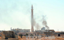 Nổ lớn tại căn cứ không quân Syria
