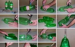 Muôn vàn cách tái chế đồ dùng độc đáo từ chai nhựa bỏ đi