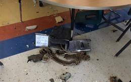 Trực thăng quân sự Mỹ đánh rơi hộp đạn xuống trường tiểu học