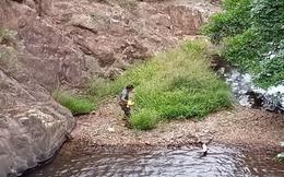 Khám nghiệm thi thể nam phượt thủ mất tích trong rừng Phan Dũng