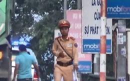 """Đang xác minh vụ """"CSGT Bình Thuận hành động bất thường"""""""