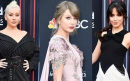 Trở lại thảm đỏ Billboard Music Awards 2018, Taylor Swift đẹp như tiên nữ giữa dàn sao đình đám