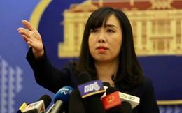 Việt Nam yêu cầu Trung Quốc chấm dứt ngay việc đưa máy bay ném bom đến Hoàng Sa