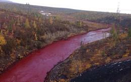 Sự thật kỳ bí về con sông đã từng xanh ngắt bỗng dưng chuyển màu máu