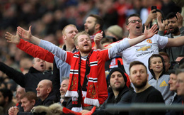 Sáu CLB Anh chiếm top 10 châu Âu, trong đó Man United giữ chắc ngôi độc tôn