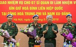 """Tại sao sĩ quan Việt Nam """"hot"""" nhất phái bộ Minusca?"""